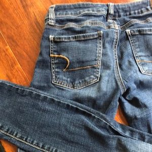 American Eagle Outfitters Jeans - Skinny blue jeans (jegging) low rise
